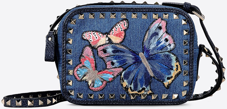 3917f80b999 VALENTINO RELEASED AN INTERESTING DENIM BUTTERFLY BAG COLLECTION ...